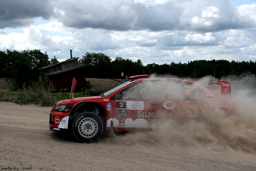aava sikk south estonia rally 2007 lancer wrc