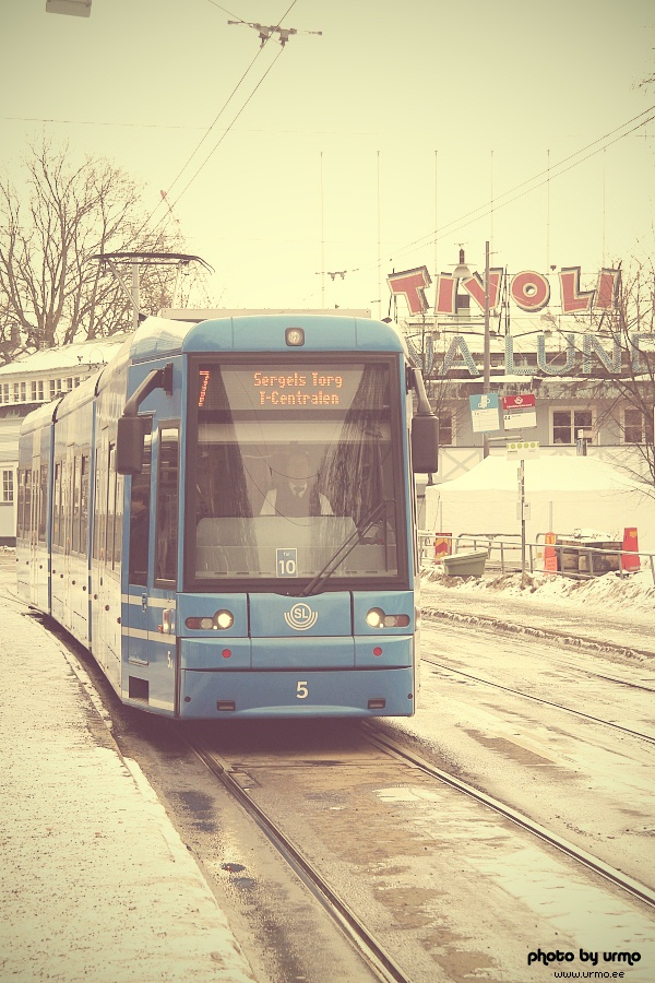 Bombardier Flexity Classic @ Stockholm, Sweden