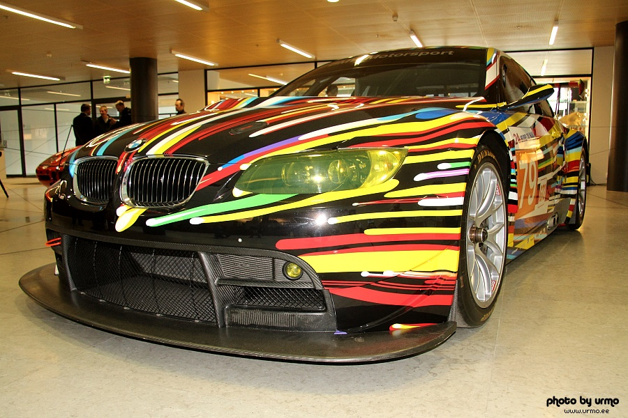 BMW M3 GT2 by Jeff Koons' @ Kumu, Tallinn