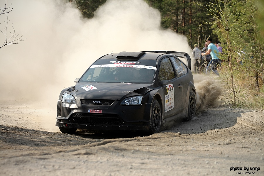 gross molder ford focus rs 08 tallinna ralli 2013