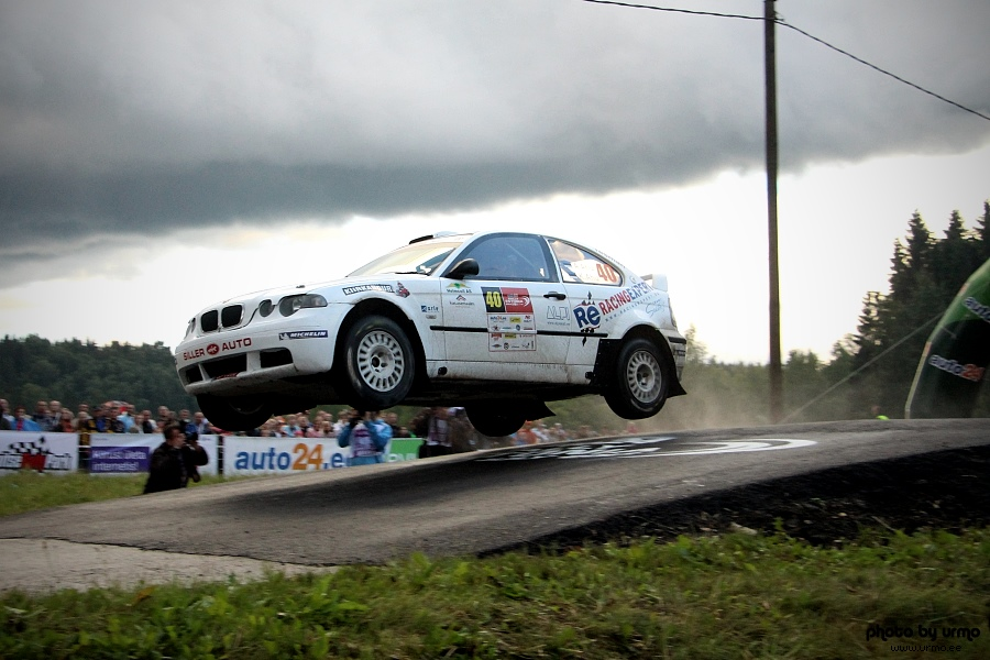 Ago Ahu - Kalle Ahu - BMW M3 @ Rally Estonia 2013