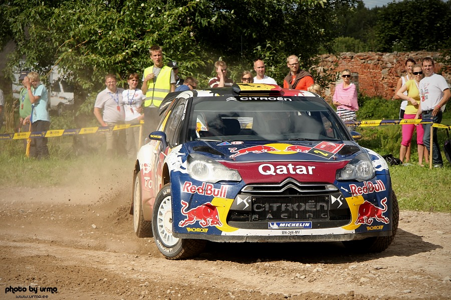 Thierry Neuville - Nicolas Gilsoul (Citroen DS3 WRC) @ Rally Estonia 2012