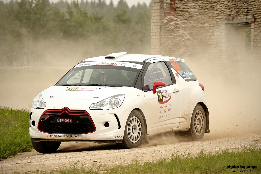 David Sultanjants - Siim Oja (Citroen DS3) @ Viru ralli 2014