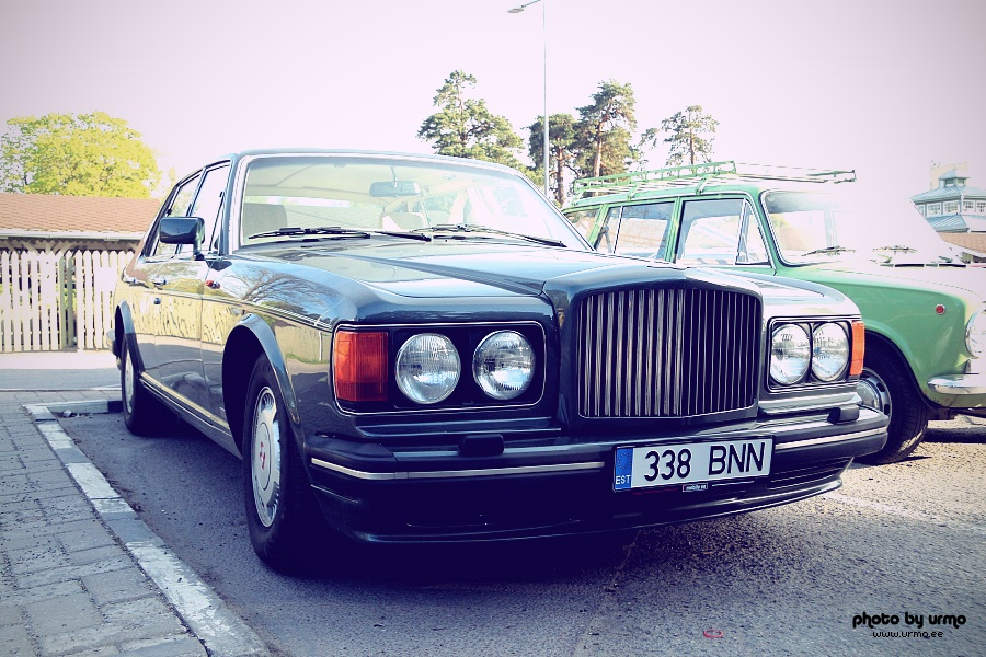 Bentley Turbo R @ Nõmme Turg, Tallinn