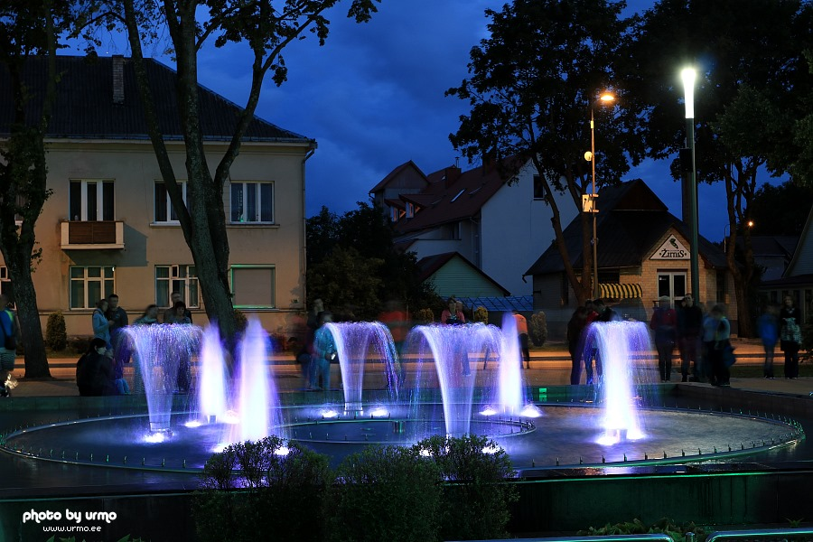 The Music Fountain in Palanga