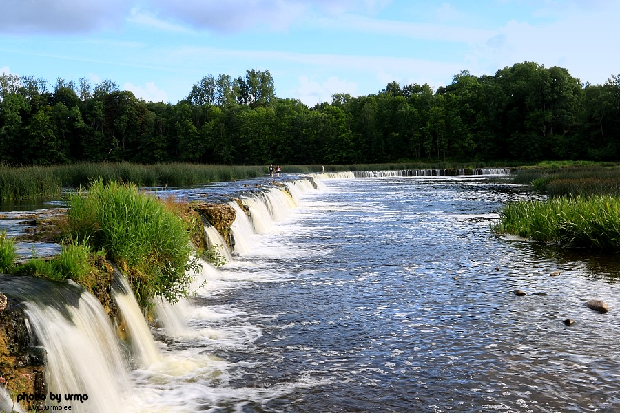 Ventas Rumba waterfall @ Kuldiga, Latvia