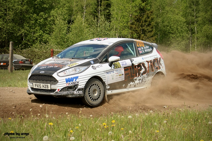William Butler - Ross Whittock (Ford Fiesta R2T) @ Harju ralli 2016
