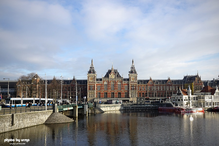 Amsterdam Centraal station @ Netherlands