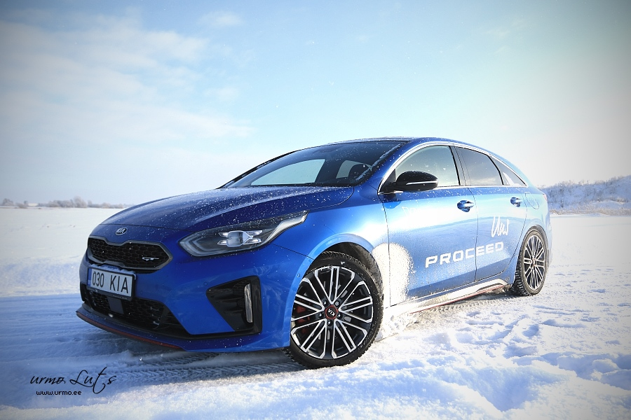 Kia Proceed @ Winter