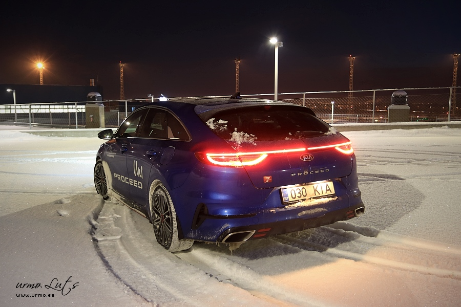 Kia Proceed @ Ülemiste City, Tallinn