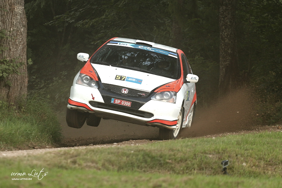 Toomas Tauk - Mait Madik (Honda Civic Type-R) @ Rally Estonia 2014