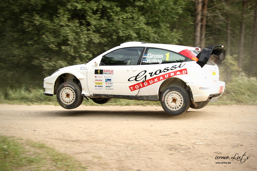 Georg Gross - Madis Halling (Ford Focus RS WRC 2003) @ Rapla ralli 2010