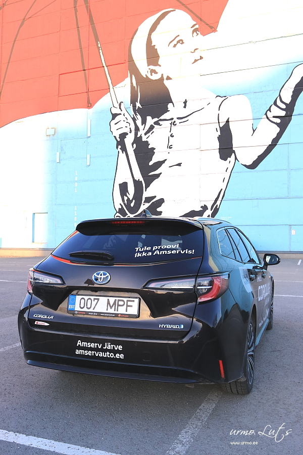 Toyota Corolla Touring Sports Hybrid @ Ülemiste City
